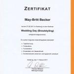 Fortbildung May-Britt Becker Brautstyling