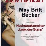 Fortbildung  May-Britt Becker Hochsteckfrisuren