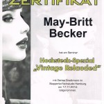 Fortbildung  May-Britt Becker Vintage Reloaded